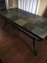 Slate tile coffee table & 2 end tables in Moody AFB, Georgia