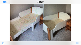 Toddler expandable bed in Oswego, Illinois