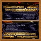 Gold Brass Flute New Reconditioned ready for Next person in Lackland AFB, Texas