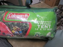 Coleman Evanston 8 person tent  - size 14' x 12' in Houston, Texas