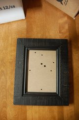 "5"" x 7"" Picture Frame. Stand up  Black Brown Brand new in Bolingbrook, Illinois"