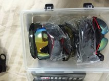New Sunglasses  Includes All 10 pare in a new Case! in Yokota, Japan