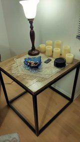 End Table, coasters and lamp in Wiesbaden, GE