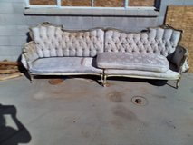 Vintage couch in 29 Palms, California