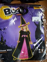 Halloween glimmer witch costume new in Lockport, Illinois