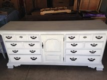 CREAMY WHITE 9 DRAWER DRESSER in Davis-Monthan AFB, Arizona