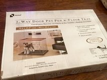 NEW, PET PEN W/ FLOOR TRAY BY RICHELL in Bolingbrook, Illinois