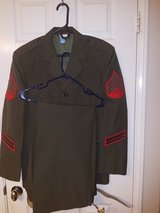 USMC ALPHA UNIFORM SET CLEANED AND PRESSED in San Clemente, California