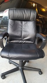 Leather office chair in Naperville, Illinois
