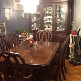 Dining table & hutch in Fort Polk, Louisiana