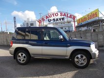 2003 MITSUBISHI PAJERO IO VERY RARE MANUAL in Okinawa, Japan