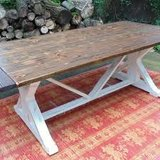 Handmade dining room table in Dover, Tennessee