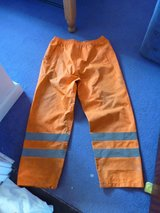 Hi vis trousers, L, used but in good condition in Lakenheath, UK