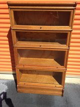 Antique Qtr Sawn Oak Barrister 6-pc Bookcase in Cherry Point, North Carolina