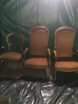 2 armchairs and chair from France perfect condition in Ramstein, Germany