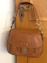 Leather Coach bag in Ramstein, Germany