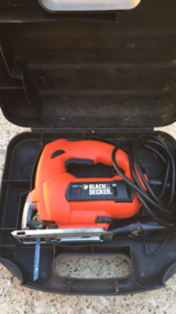 Black and Decker Jigsaw with case in Houston, Texas