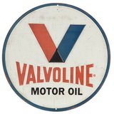 Valvoline Tin Sign in Naperville, Illinois