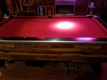 Pool table in Columbus, Georgia