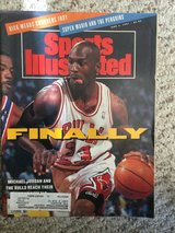 Michael Jordan Sports Illustrated - FINALLY issue in Lockport, Illinois