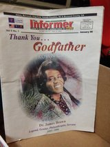 """James Brown """"The GODFATHER of SOUL"""" in Fort Gordon, Georgia"""
