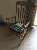 Wood rocking chair in Naperville, Illinois