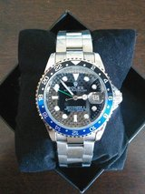 ONLY $140 or best offer ! New Auto.. Rolex GMT master watch in Yuma, Arizona