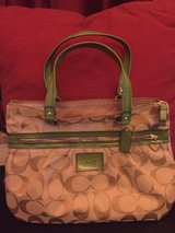 Coach Purse (Green) in Ramstein, Germany