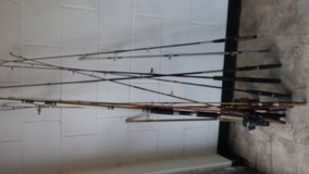 vintage antique fishing poles any equipment in Temecula, California