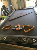 1960s AMF slate pool table in Hinesville, Georgia