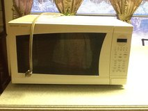 Large white Sharp microwave oven in Cleveland, Texas