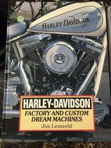 Harley-Davidson Factory and Custom Dream Machines Book in 29 Palms, California