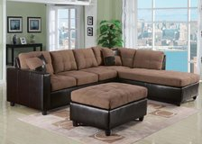 NEW LARGE SECTIONAL FREE OTTOMAN in Riverside, California