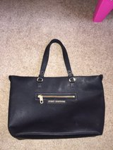 Juicy couture black leather purse in Alamogordo, New Mexico