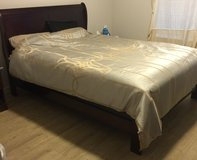 Queen size sleigh bed in Fort Sam Houston, Texas