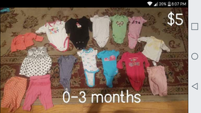 Baby girls 0-3 months in Beaufort, South Carolina