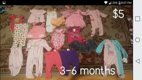 Baby girl clothes 3-6 months in Beaufort, South Carolina