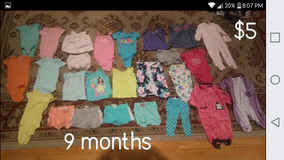 Baby girls clothes 6-9 months in Beaufort, South Carolina