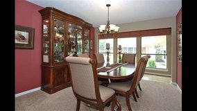 FORMAL DINING TABLE WITH LEAF & 10 CHAIRS in The Woodlands, Texas