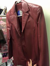 Red Leather Jacket Size Small in Miramar, California