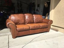 Leather Sofa in Vacaville, California