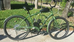motorized bicycle in The Woodlands, Texas