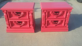 Wood End tables / night stands in Alamogordo, New Mexico