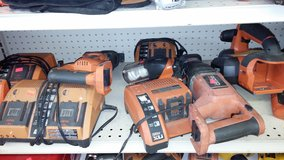 Ridgid Tool Addons: drill, sawzall, chargers etc in Yucca Valley, California