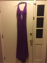 Purple prom dress size 12 in Leesville, Louisiana