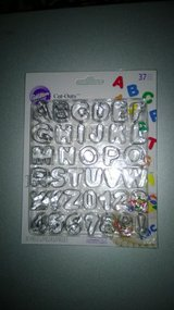 Wilton Fondant Cut outs (Letters and Numbers) in Naperville, Illinois