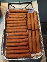 Home made lumpia order now. in Okinawa, Japan