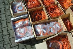 FIBER OPTIC CABLES/CONNECTORS-BOXES FULL-NEW in Ramstein, Germany