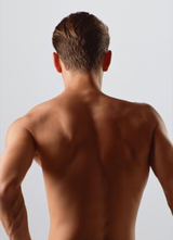 Back, Chest and Stomach NPL hair removal in Okinawa, Japan