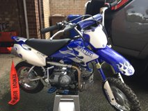 2007 Yamaha TTR50 US dirt bike in Lakenheath, UK